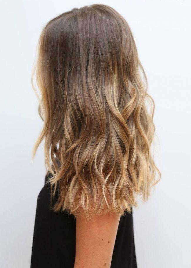 Мелирование волос спортивная