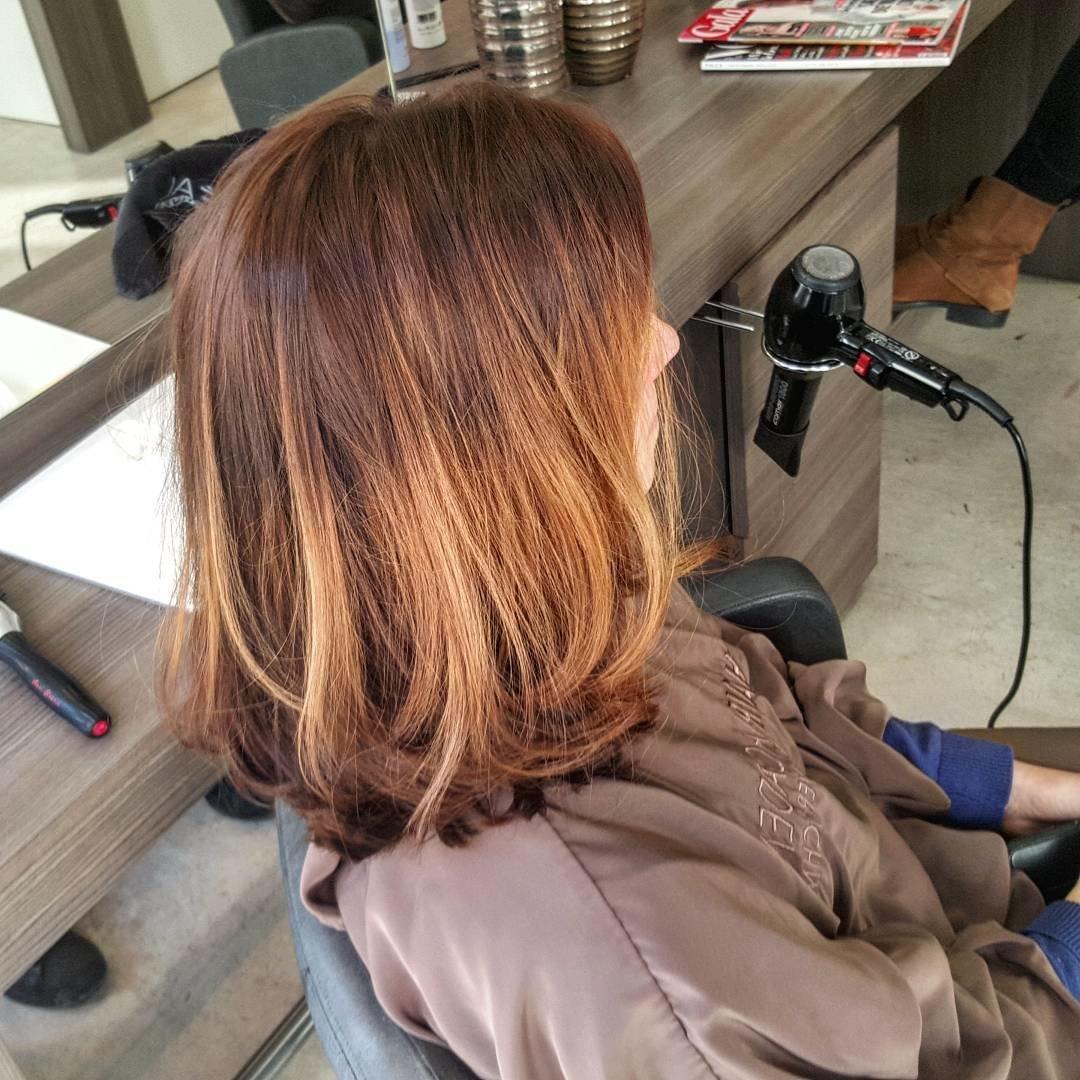 Мелирование на корни волос в домашних условиях 185
