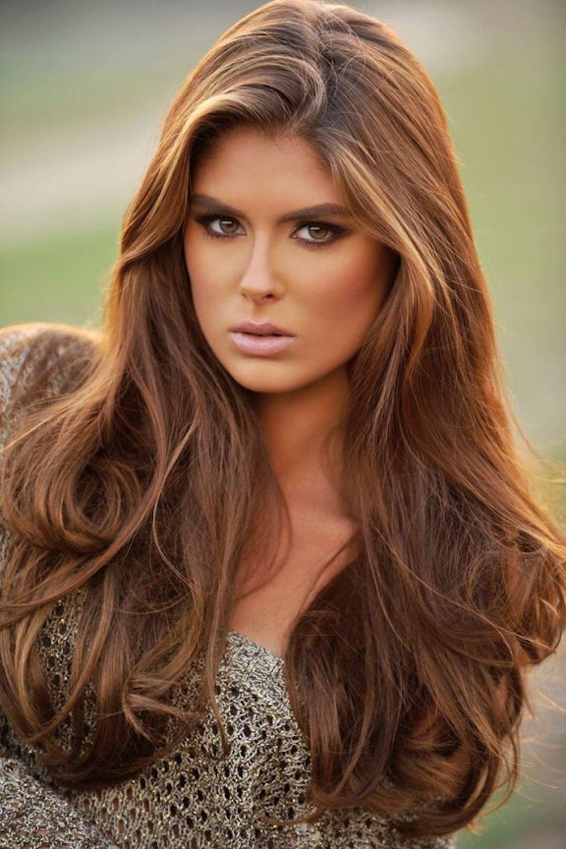 Цвет краски для волос карамель