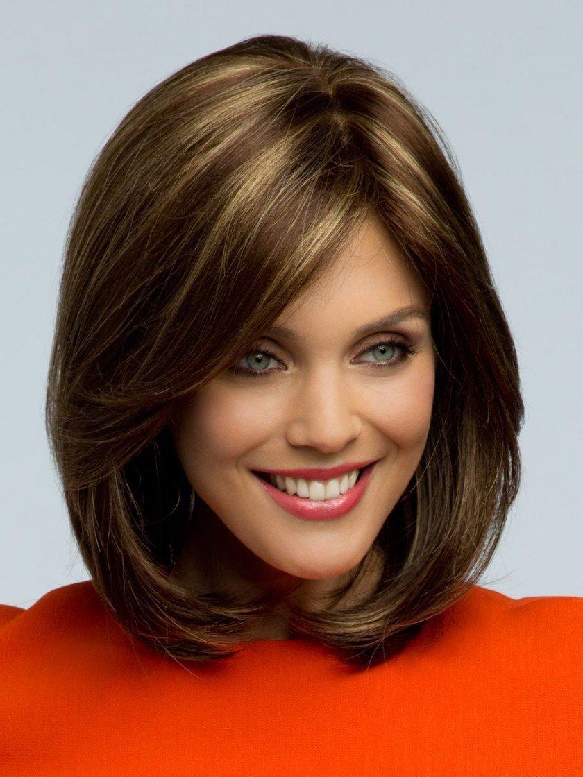 Прически фото на средние волосы каре