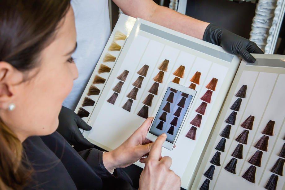 Краска для волос Гарньер: палитра цветов (фото)