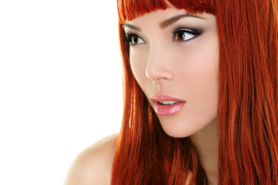 Светлая медь цвет волос