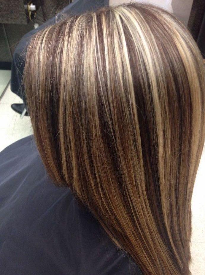 Модное мелирование на короткие волосы 2018 фото