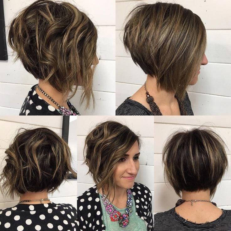 Модное окрашивание коротких волос в 2017