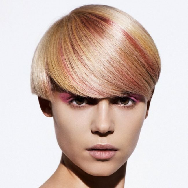melirovanie-na-svetlye-volosy_-33-650x650 Мелирование на рыжие волосы: фото до и после, окрашивание на медный цвет, с челкой и без, на короткие, длинные, крашеные