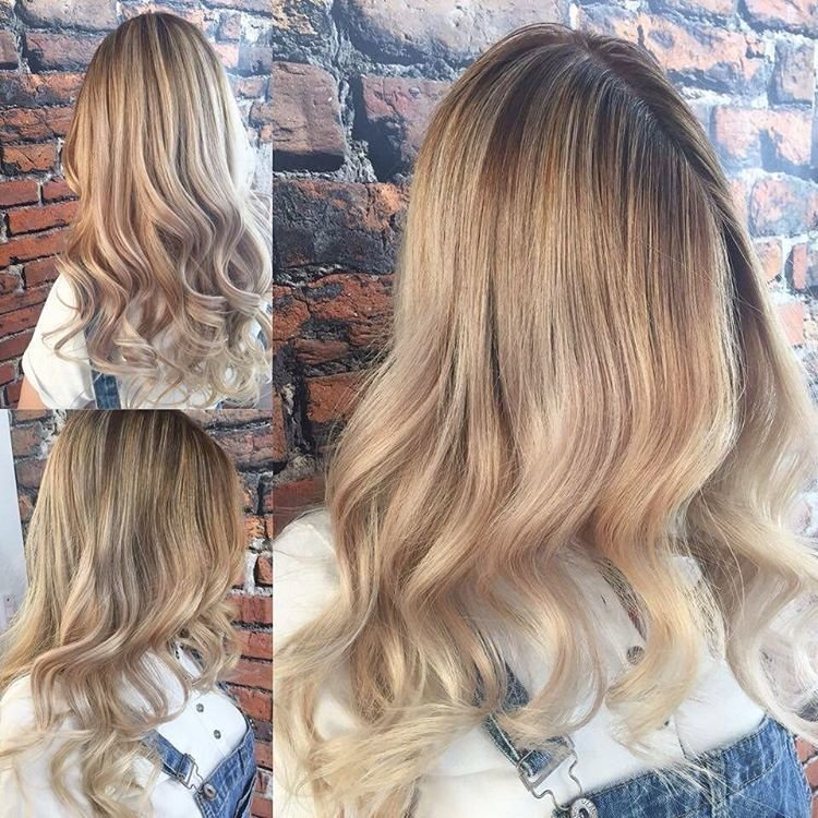 Цвет волос оттенки светлого фото