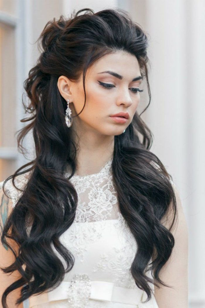 прически на густые длинные волосы фото