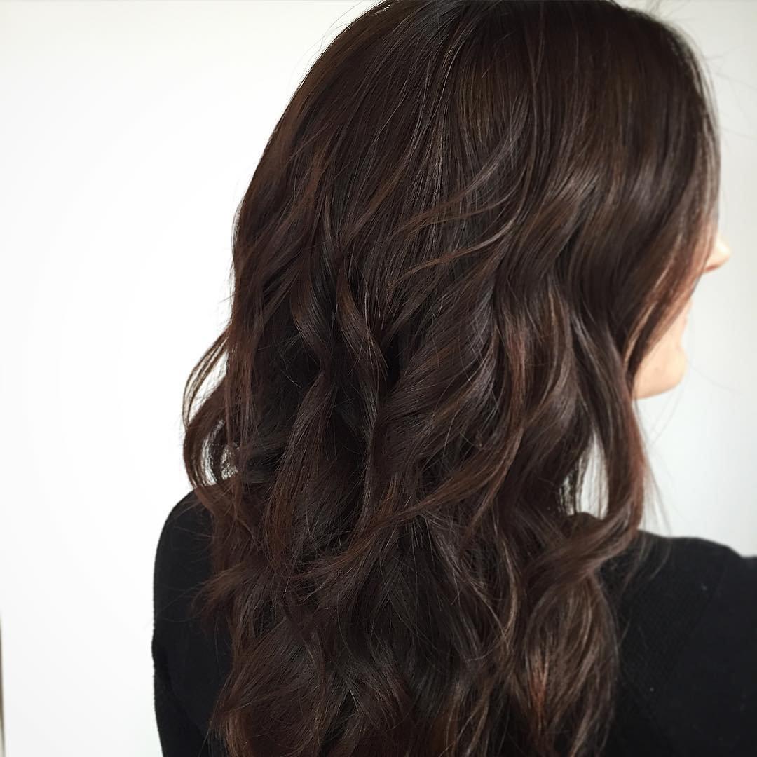 черно рыжий цвет волос фото