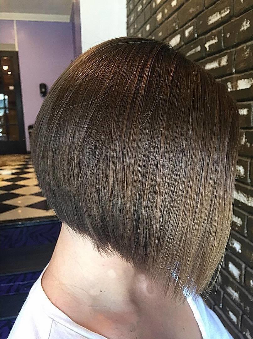 Стрижка шариком на средние волосы