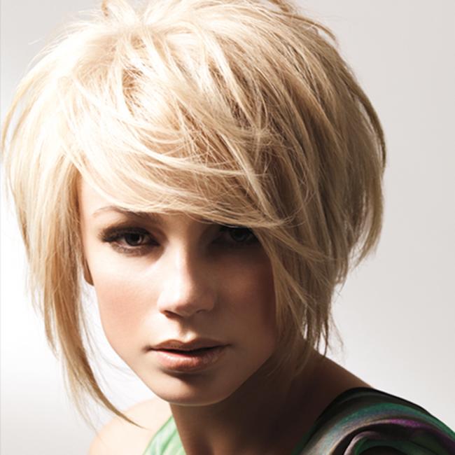 женские прически на короткие волосы фото