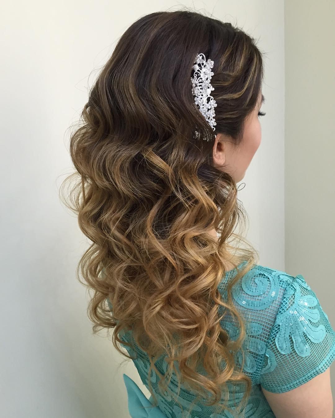 Как уложить красиво волосы фото