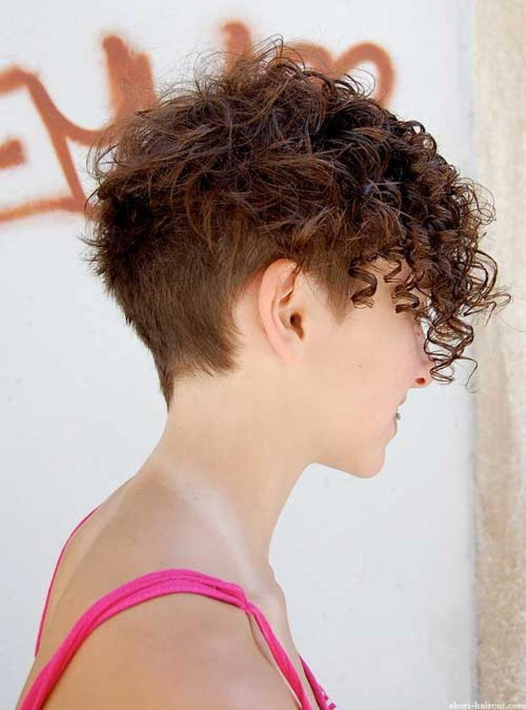Прическа короткие кудрявые волосы