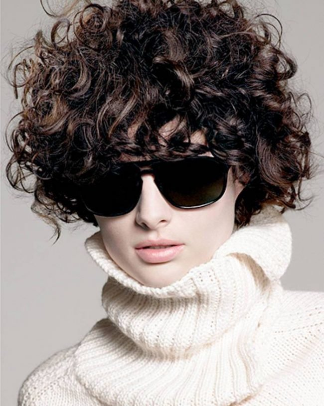 Укладки на жесткие волосы фото