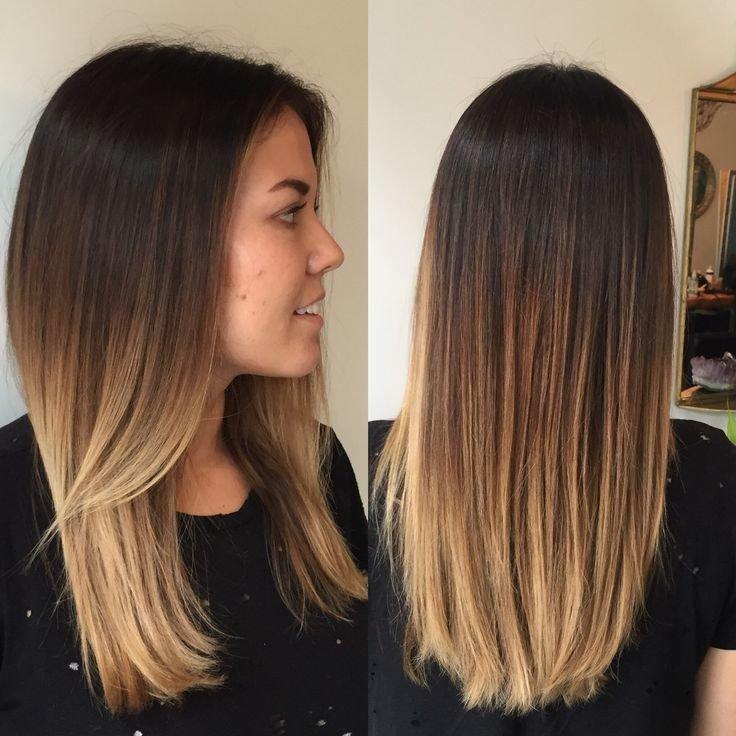 Покраска волос светлые тона