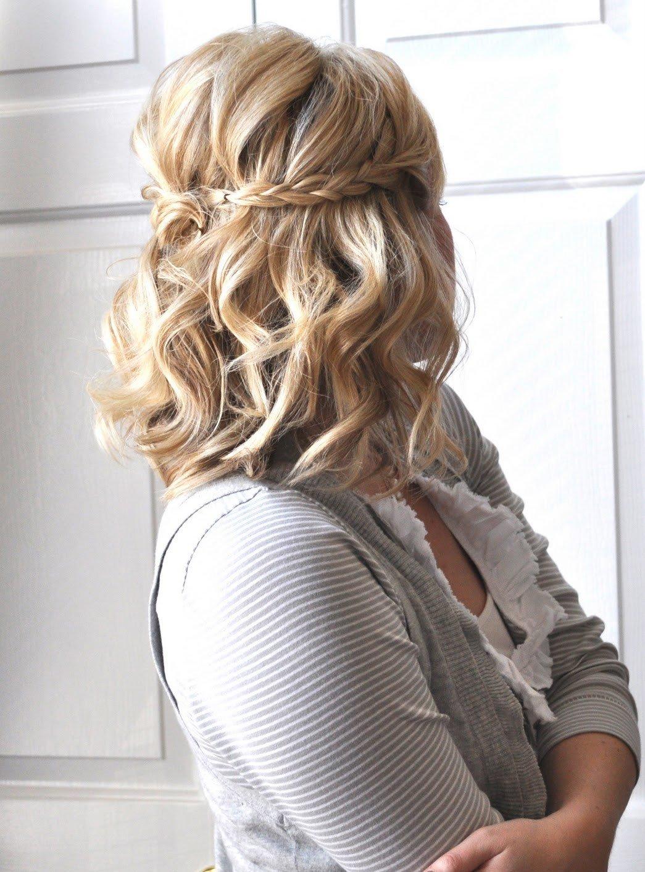 Прически на короткие волосы до плеч фото