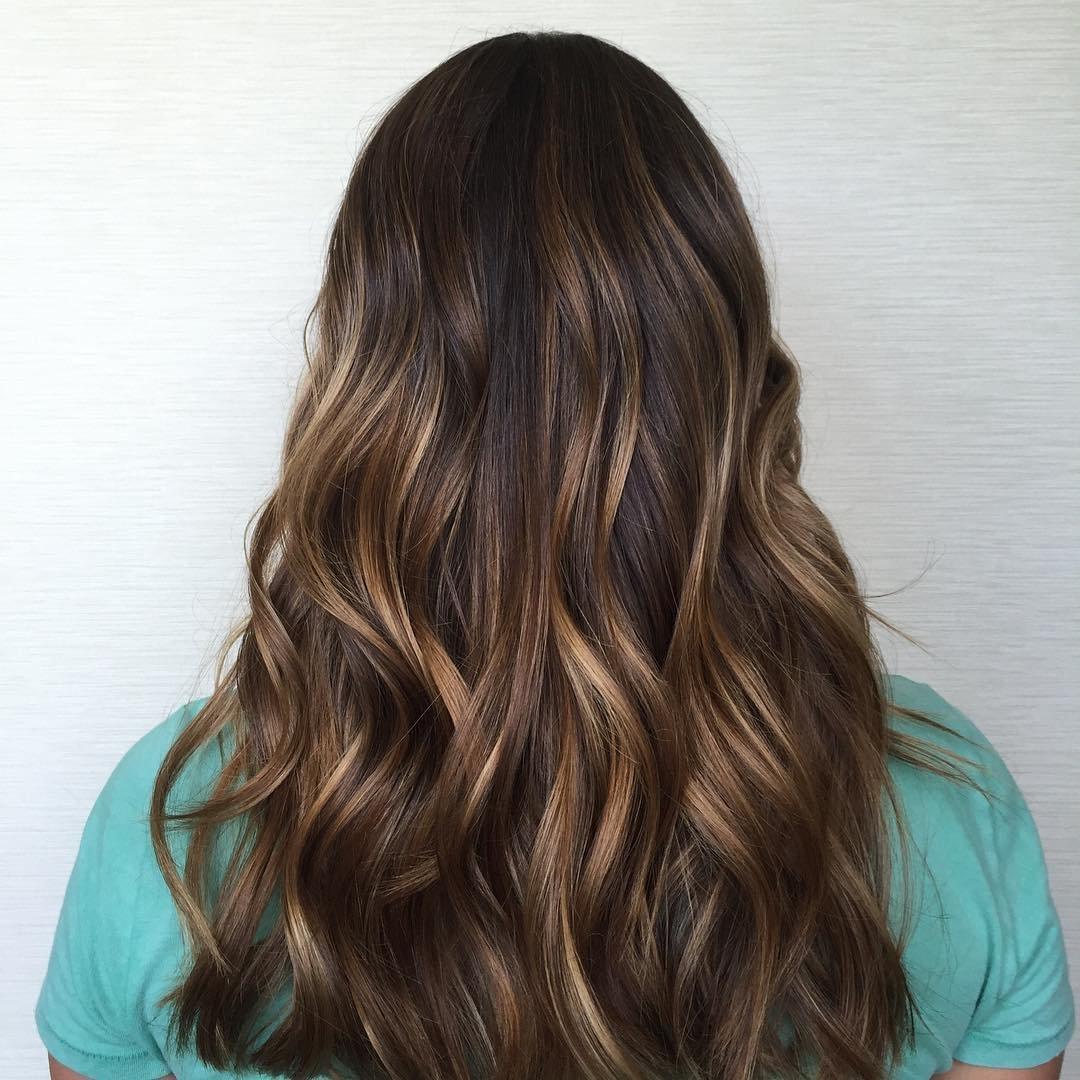 Калифорнийское милирование волос