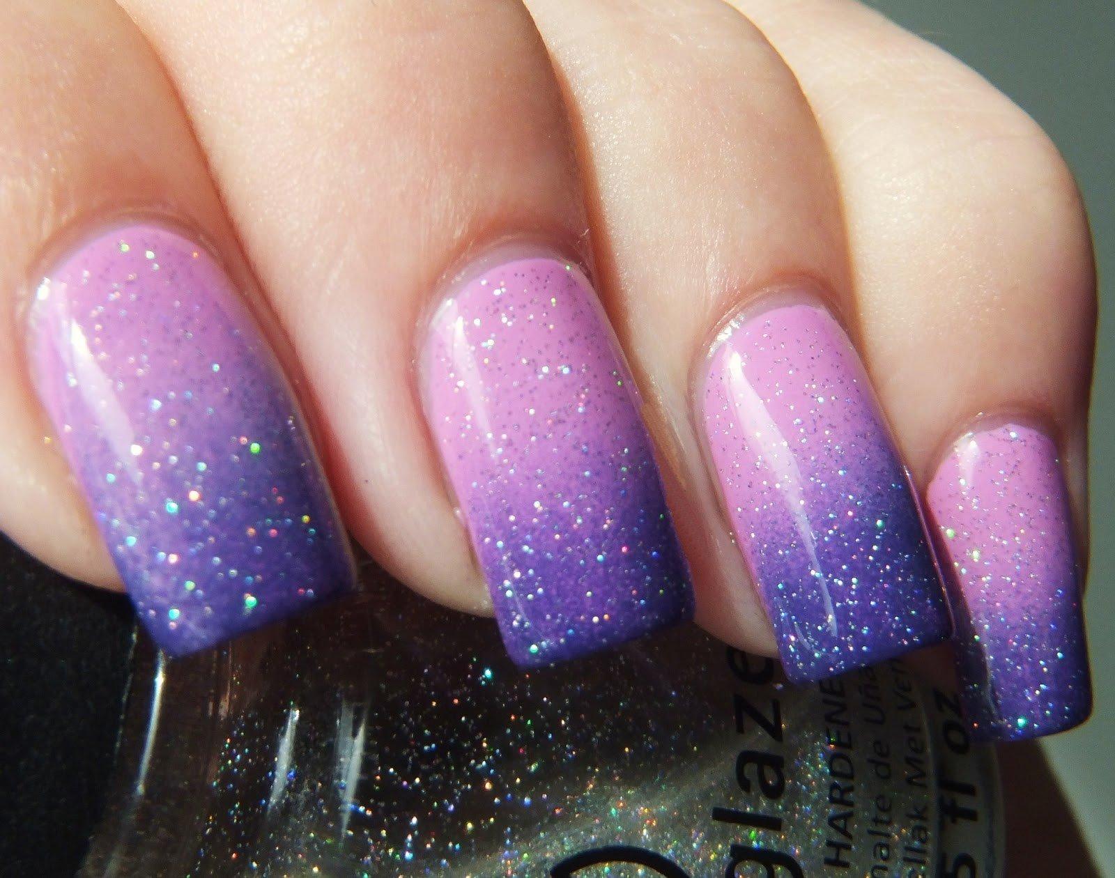 Стильный дизайн ногтей омбре (25 фото) — Новинки и цвета 25