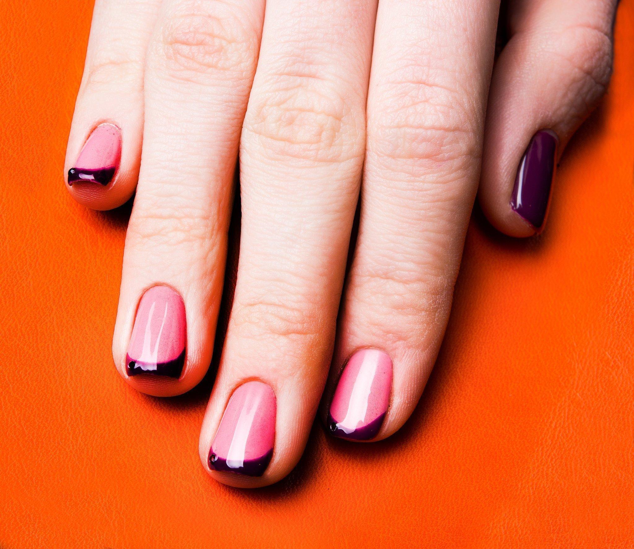 Красивый маникюр фото на коротких ногтях френч