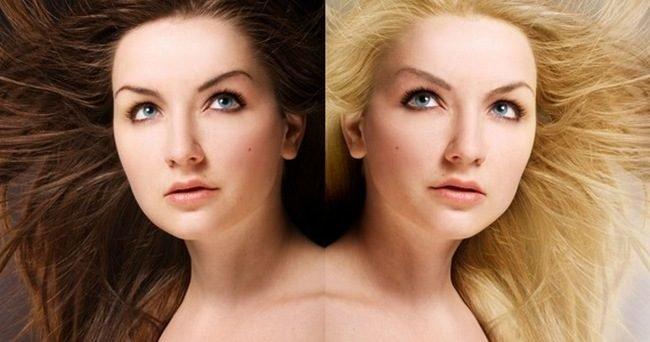 Сеть бисексуалов фото девушек брюнеток и блондинок