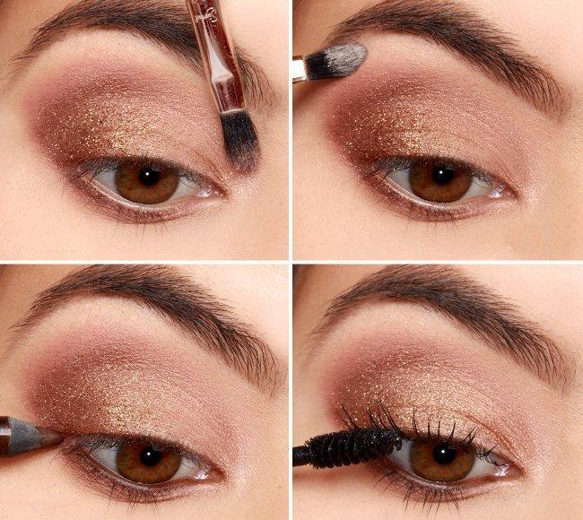признаются, легкий макияж для карих глаз картинки темой