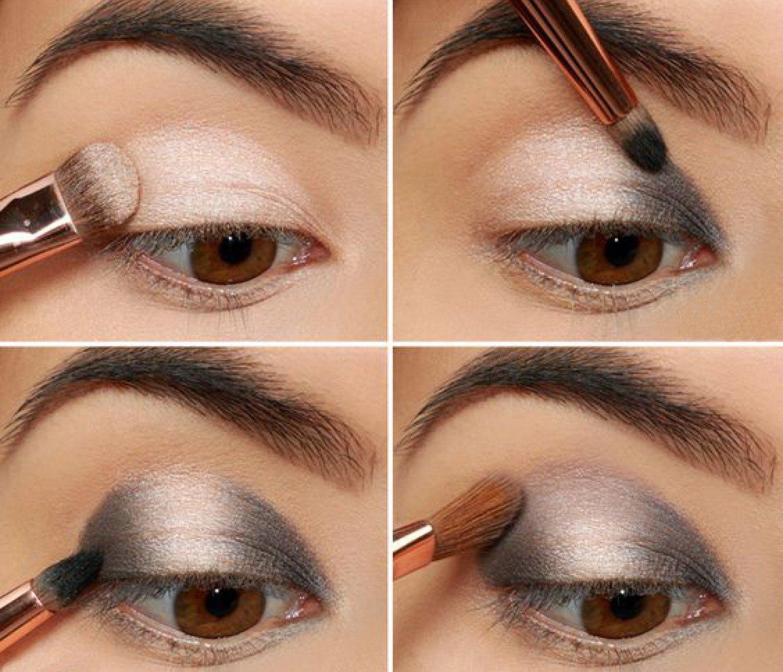 Современный макияж пошаговое фото
