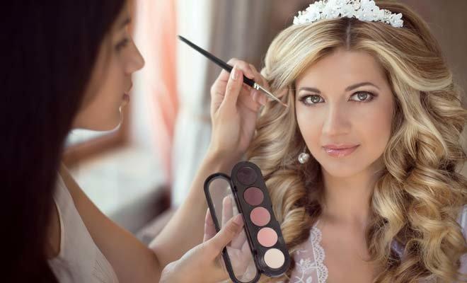 прически и макияж свадебные смотреть видео от профи