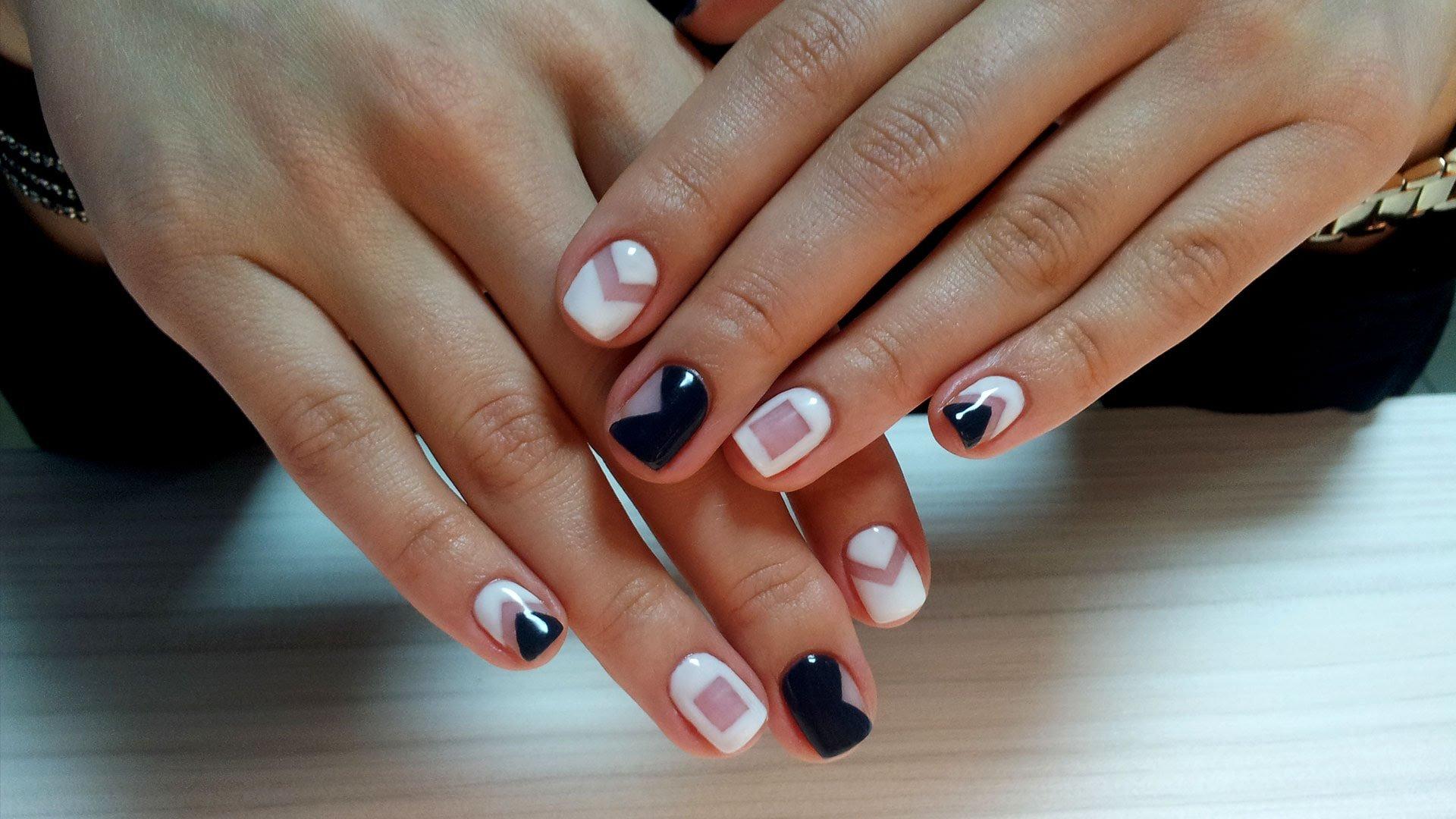 Дизайн ногтей гель-лаком - t 5