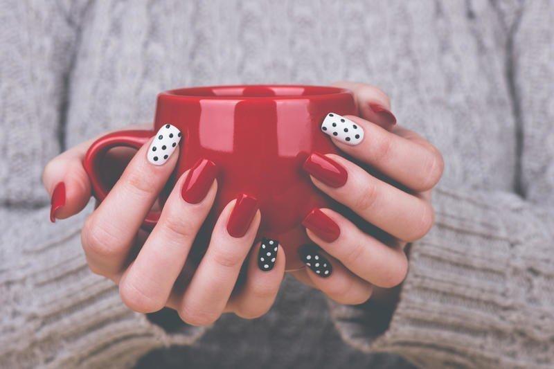 Идеи простого дизайна ногтей