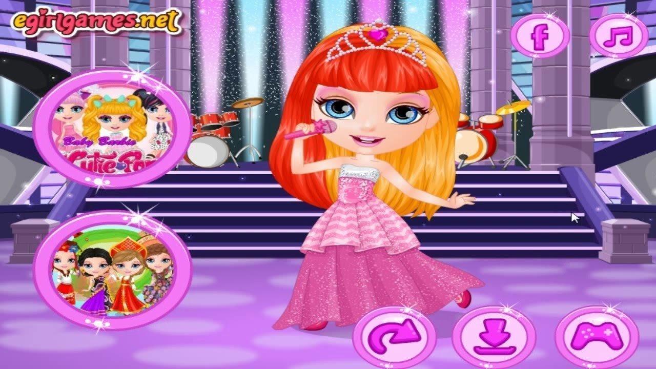 Прически для куклы играть онлайн