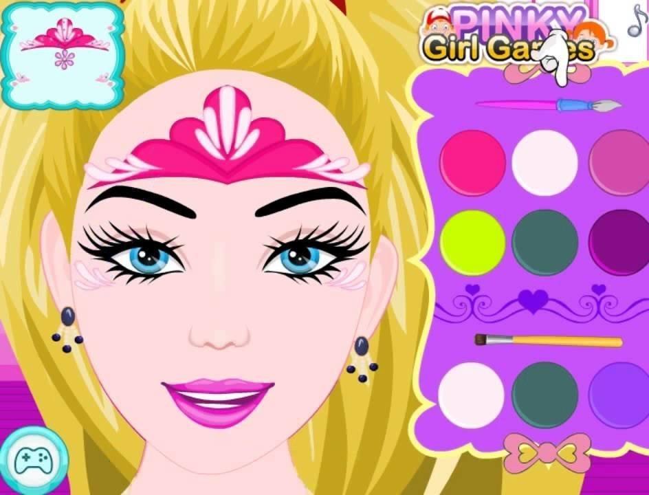 Игры и прически макияж