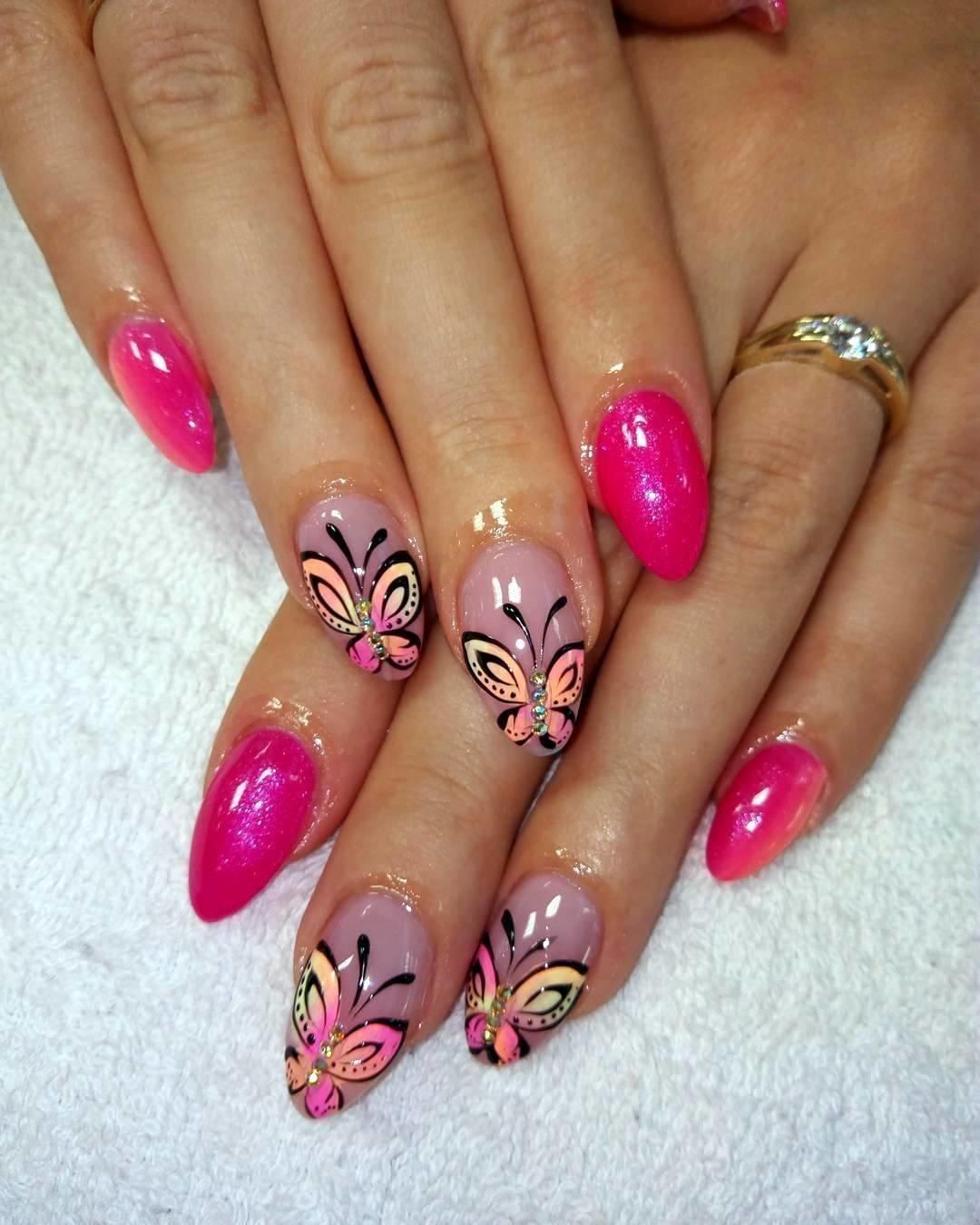 Различные дизайн ногтей фото