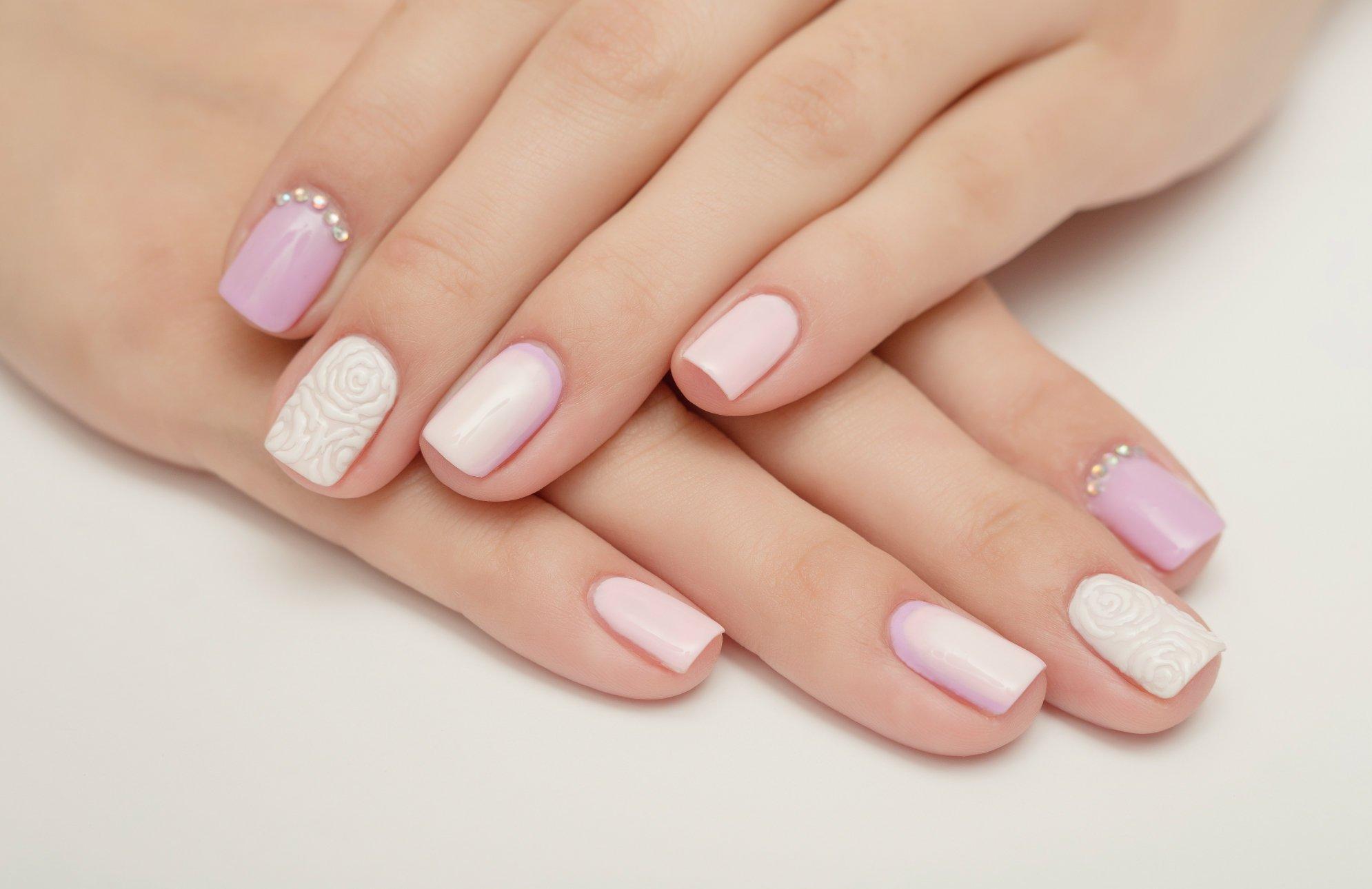 картинки ногти дизайн короткие