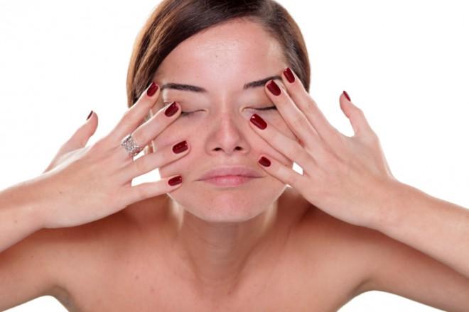 Гимнастика массаж глаз