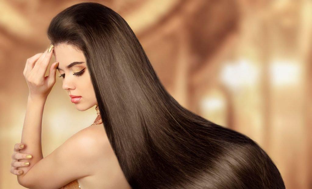 Волосы можно выпрямить без выпрямителя