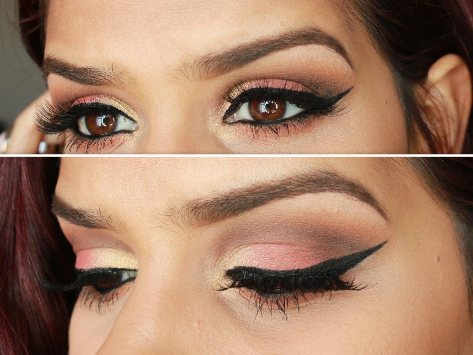 Как сделать макияж глубоко посаженных глаз