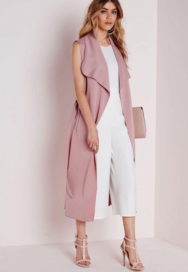 2e47baa4ce6 Модный женский пиджак без рукавов (50 фото) — С чем носить