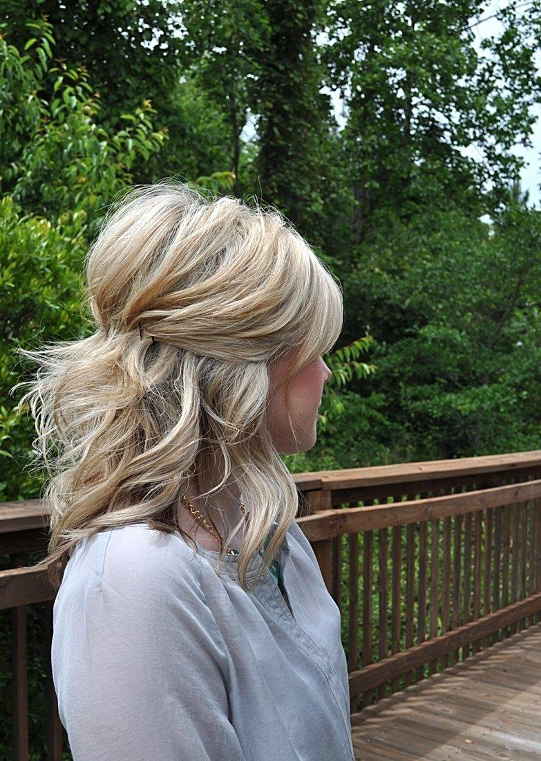 Прическа на редкие длинные волосы