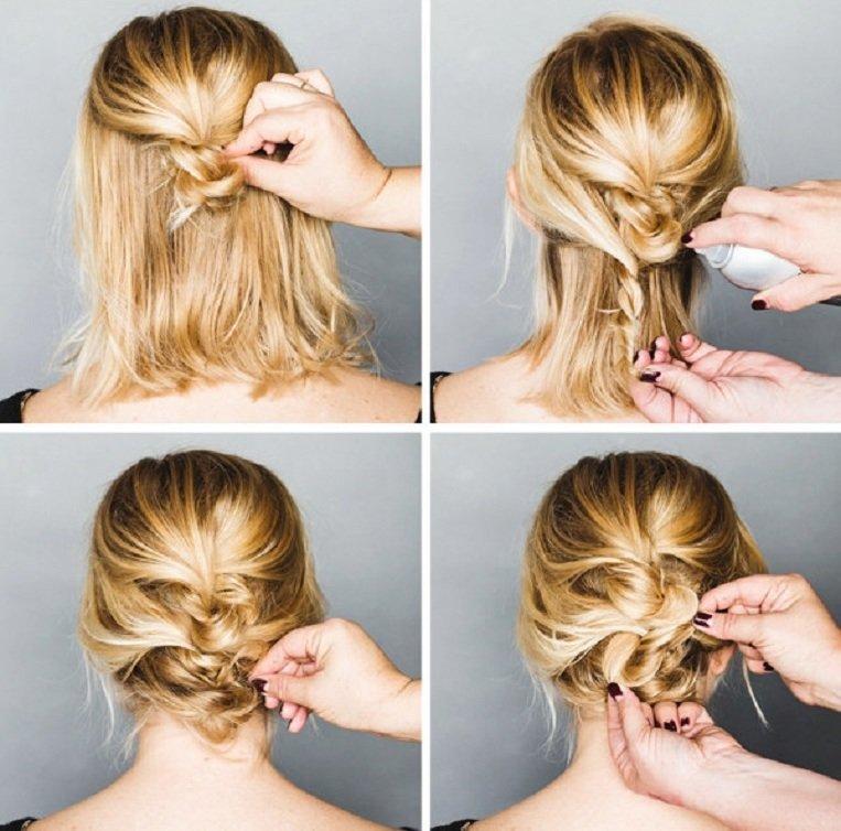 Причёска своими руками если волосы тонкие и редкие