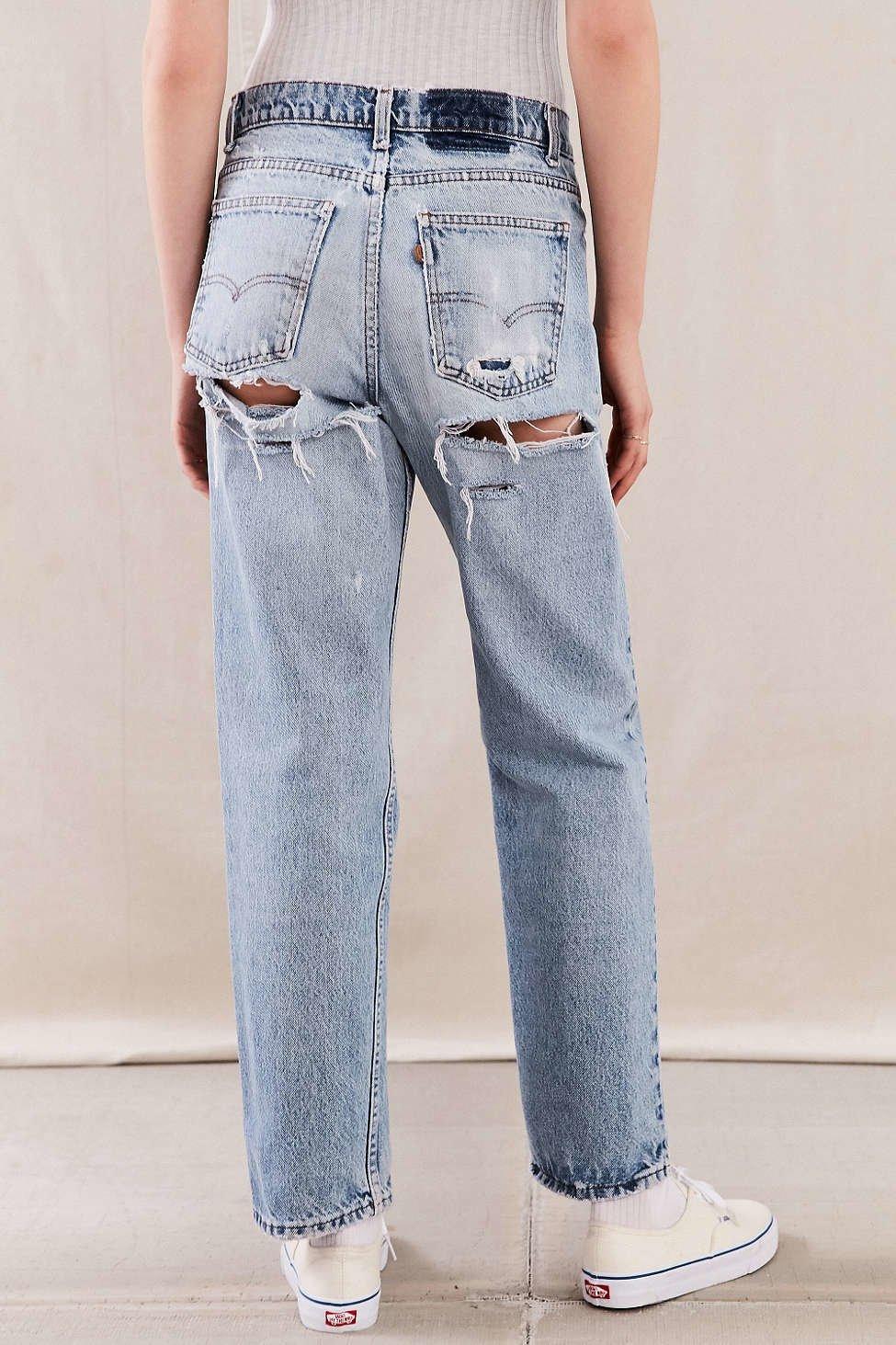Как сделать джинсы на один размер меньше 95