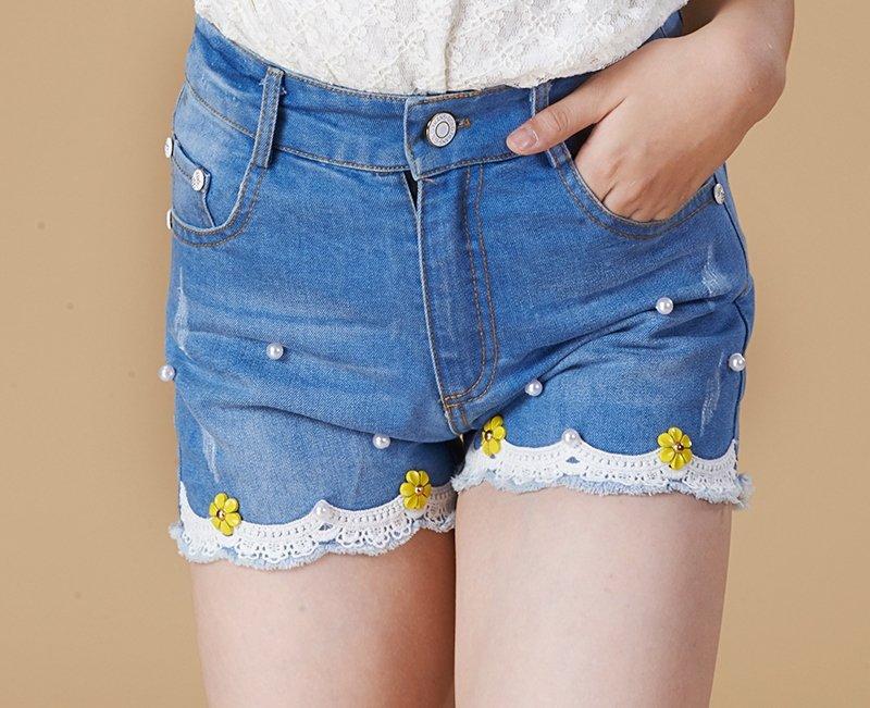 Как дома сделать шорты из джинс