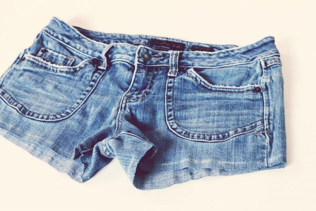Как шорты из джинс своими руками