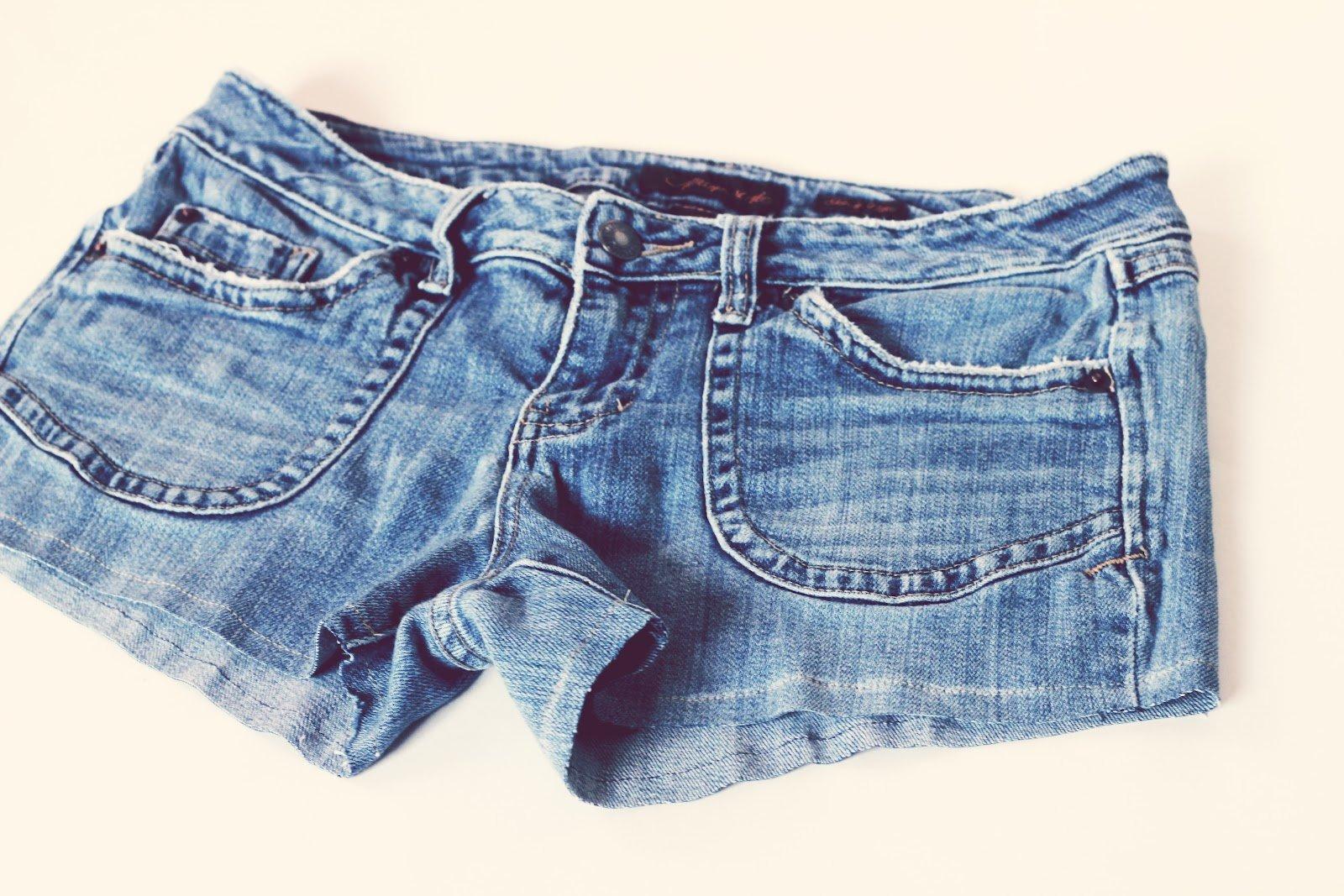Джинсовые шорты своими руками фото и выкройки