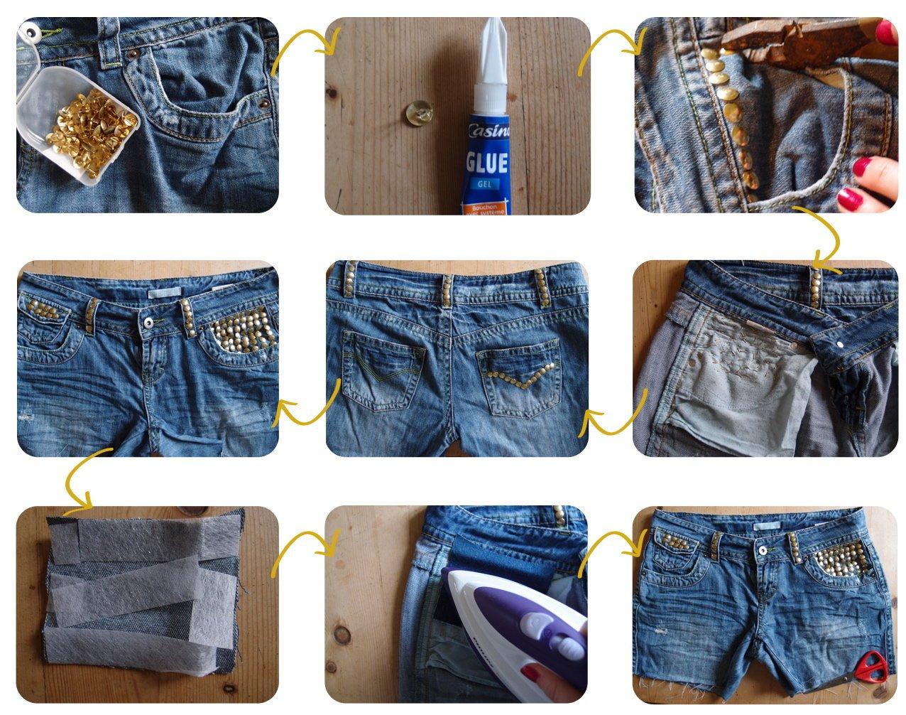 Как ушить шорты в домашних условиях