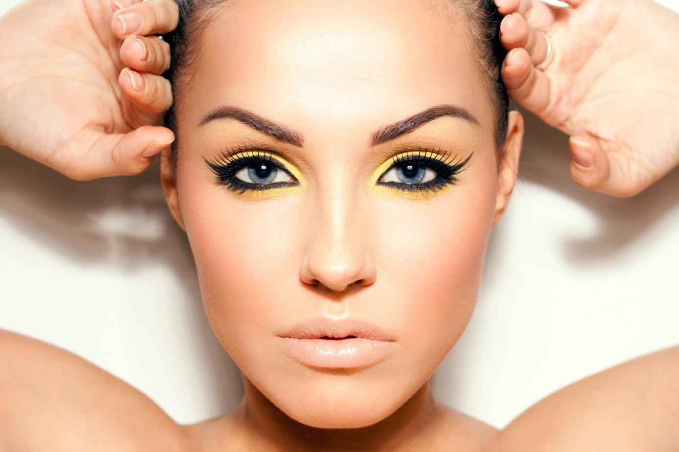 Макияж для синих глаз и темных волос фото  Правильный макияж  ВОССТАНОВЛЕНИЕ ЗРЕНИЯ