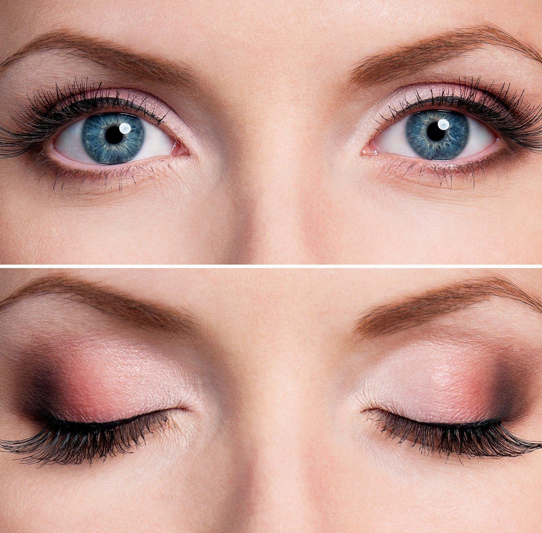 Красивый макияж глаз пошаговое фото для глаз с нависшим веком