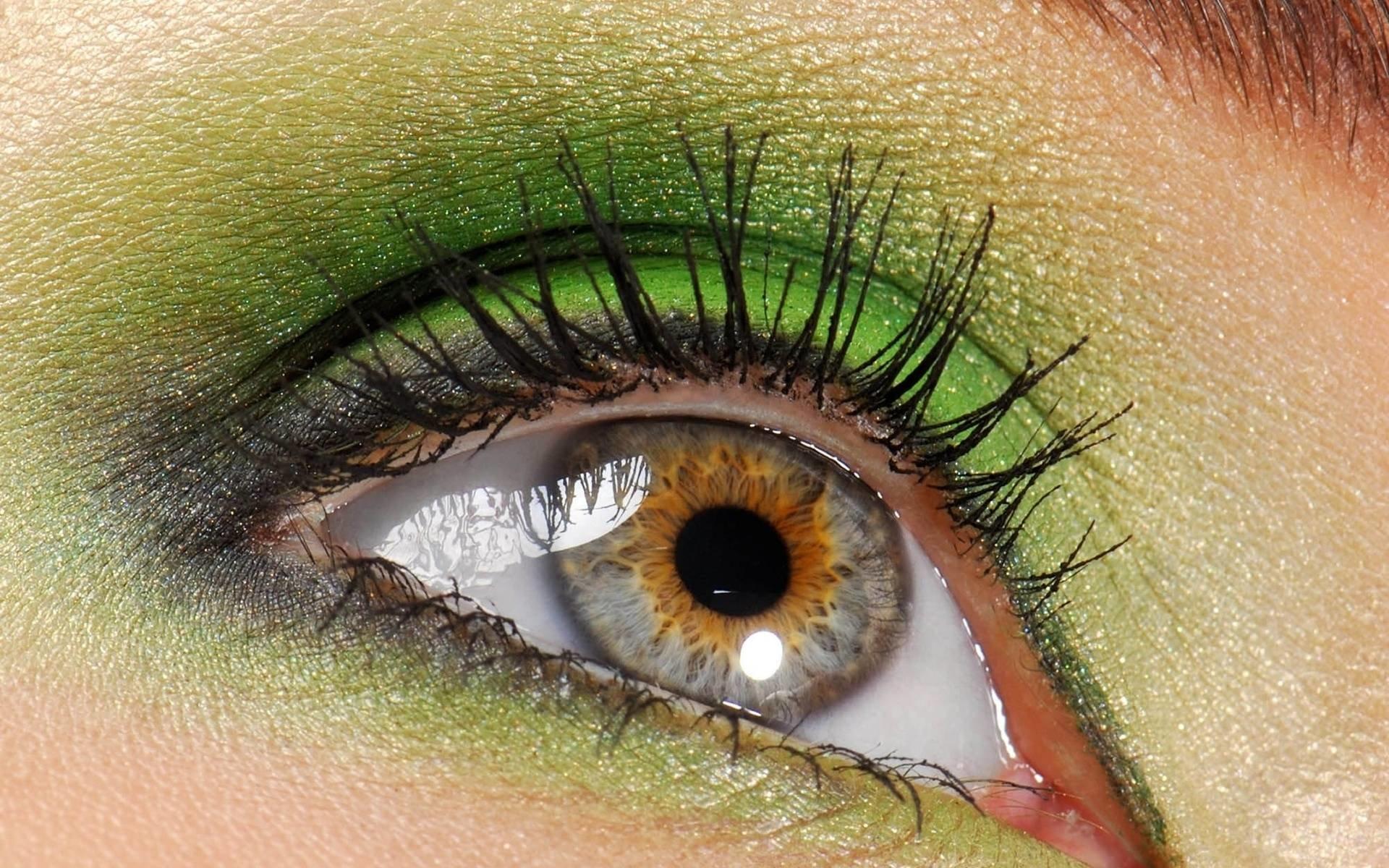 Зеленые глаза в картинках