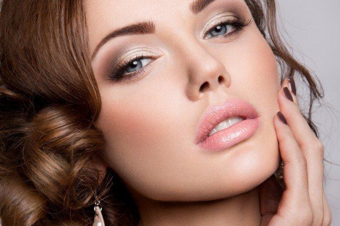Вечерний макияж глаз пошаговое фото для серых глаз
