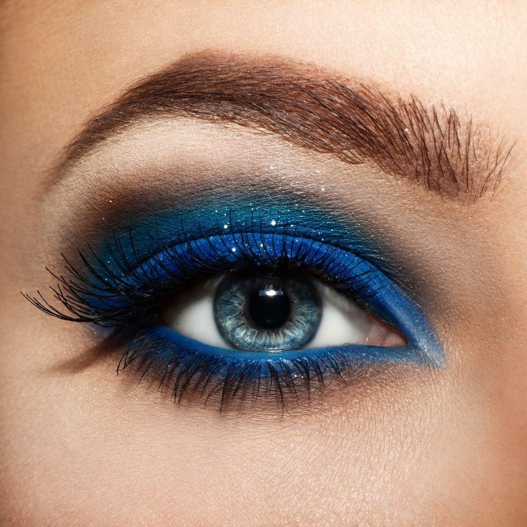Макияж глаз пошаговое фото для голубых