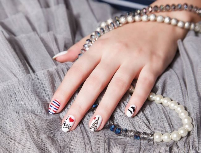 manikjur-s-risunkom-foto_-6-650x496 Очень красивый дизайн ногтей - 453 фото шикарного маникюра