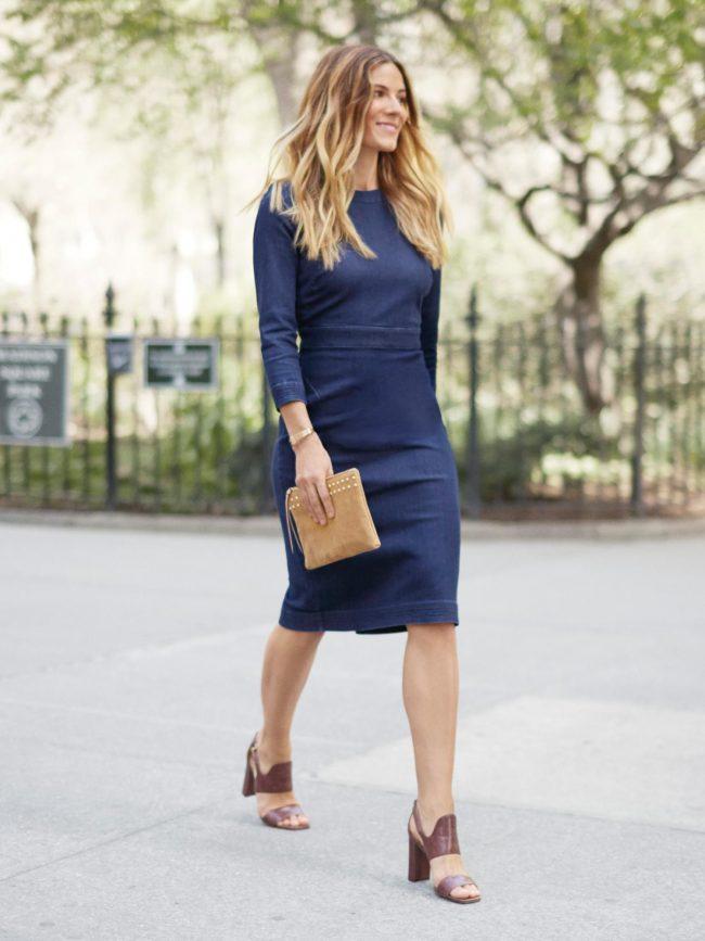 1b468864810 Элегантное платье-футляр (50 фото) — Стильные новинки 2019